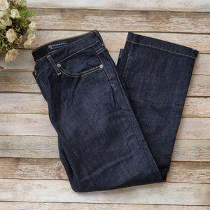 AG Adriano Goldschmeid The Crop Jeans Dark Wash